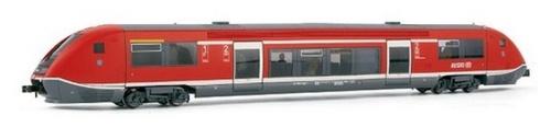 Coradia TER (Br 641) realizzato in N da Arnold