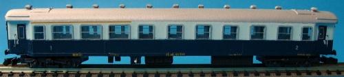 Tipo 1959 ABz in livrea Treno Azzurro