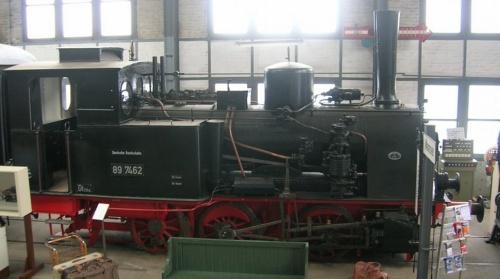 III-4p , BR 89.7462 nel museo di Koblenz