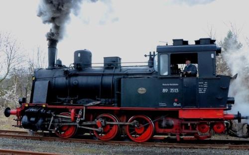 La 89 7513 nel Febbraio 2013. Non è una T3, ma una Jung, ex Porto di Brema. Foto © Edmund Schultz da www.bahnbilder.de