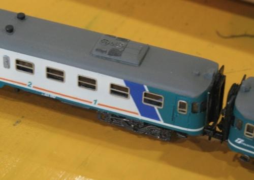 LA ALn 668 di ASN verniciata in XMPR e con l'aggiunta dei condizionatori sul tetto. Autore: Maurizio Chivella