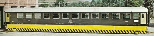 BRz Tipo 1970, compartimento ristoro grande, sul pronte trasbordatore. Foto del produttore