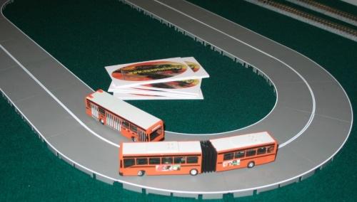 I Bus di Stefano Depetri giravano in continuazione con il Faller Car System