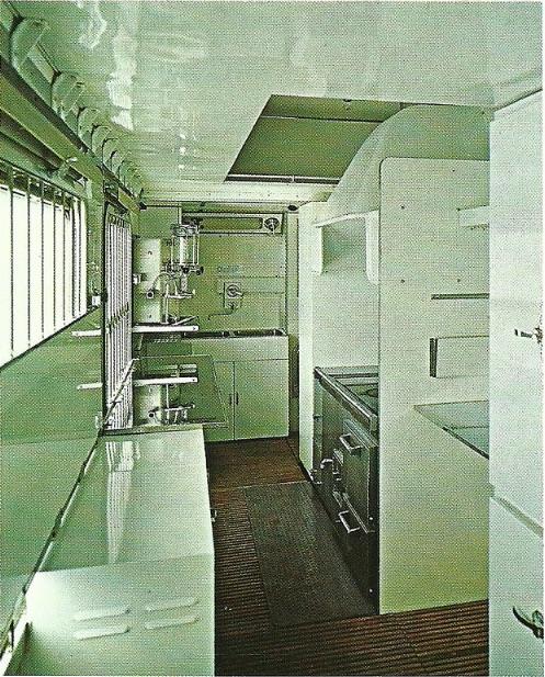 Interno del comparto di servizio della BRz Tipo 1970 - Foto del produttore