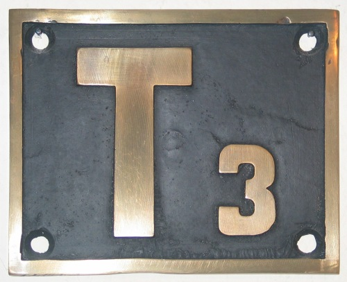 Targa di una KPEV T3. Foto © lockschilder.info