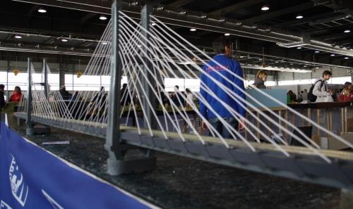 Il nuovo modulo con il ponte sospeso, sul modulare ASN - foto Fabio Capelli dal forum ASN