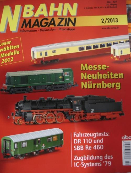 La N Italiana sulla copertina di N-Bahn!