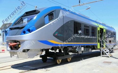 La nuova livrea Trenitalia DTR post XMPR applicata su un Coradia Meridian di prossima consegna