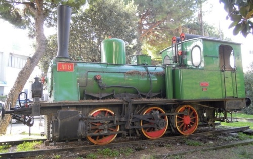 Henschel 7329 a Loano da www.maurodogliani.it storici/locomotiva-tender-tipo-t3