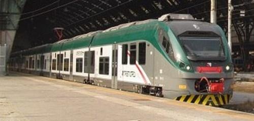 Un nuovo Meridian Trenord a Milano Centrale per la sua prima corsa. Foto © Guido Catasta da FOL News.