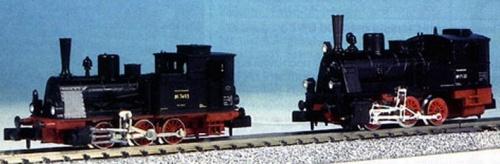 confronto diretto tra le due principali serie Arnold , dettaglio da una foto tratta da /www.kdtroeger.de