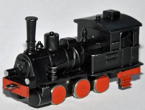 "T3 Schiebetrix, modellino in scala N ""ante litteram"" senza motore di fine anni '50, foto da www.kdtroeger.de"