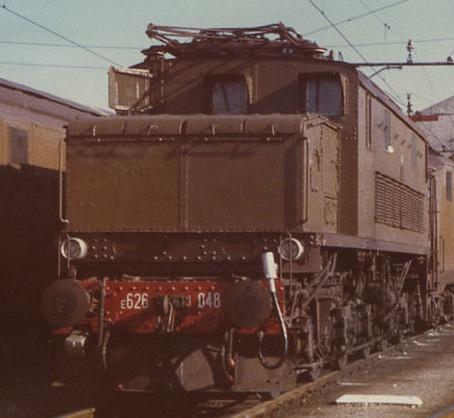 E.626.048 a Udine nel 1981 Foto © W. Bonmartini d flickr