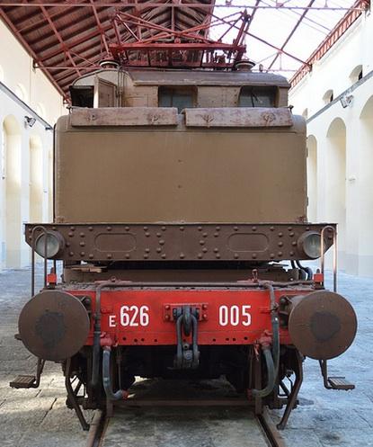 E.626.005 al museo di Pietrarsa - Foto © Alessio Pascarella da flickr