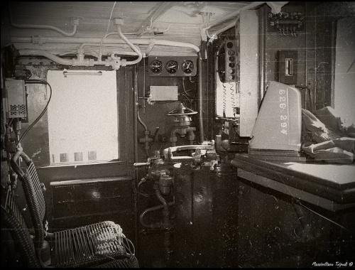 La cabina della E.646.294 - non il massimo del comfort... Foto © Massimiliano Tripodi da flickr