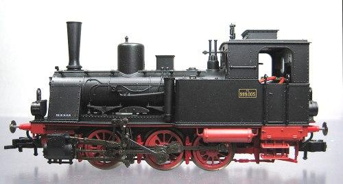 Fleischmann 401003 - T3 delle FS (Gr.999.005)