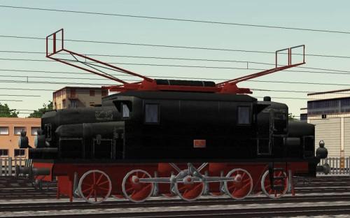 FS eE354.004 nel disegno di Enrico Onori per simtrain, da msts.banal.net