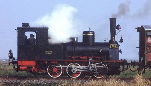 La T3 n.3 del Museo Ferroviario Piemontese - Foto © Roberto Canta