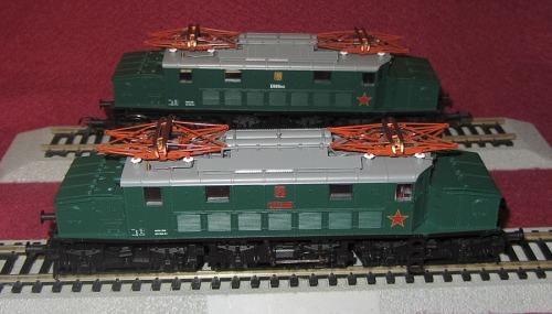 Le CSD E.666.001 e 002 prodotte da Roco-Xenia