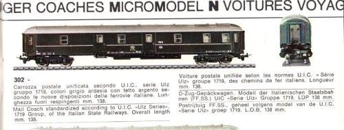"""Postale Lima, dal primo catalogo """"Micromodel"""""""