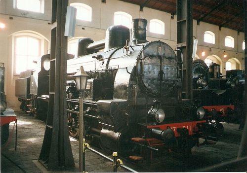 La 477 al museo di Pietrarsa - Foto PetrS da wikimedia