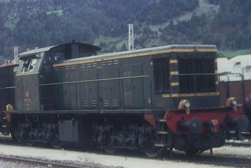 La D.141.1004 in servizio trazione in Venosta. Foto © www.mecschlanders.com