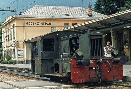 Kof 213.905 a Merano nel luglio 1973, foto © Hans Wiskerke da flick'r