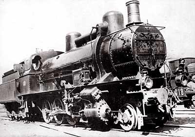 Bolzano 1926 locomotiva FS 729.018 ex kkStB 170.342, costruita nel 1917 - Foto ing. Bruno Bonazzelli da www.comunemaranovalpolicella.vr.it