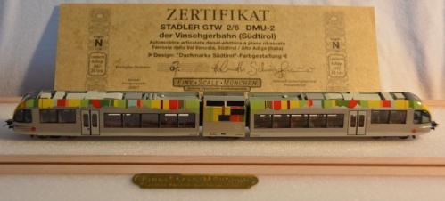 Il GTW di Helmuth Schwinghammer con certificato numerato.