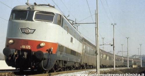 Cisalpino il 31 gennaio 1981 - Foto © di Barolomeo Fiorilla, www.unferrovieremacchinista.it