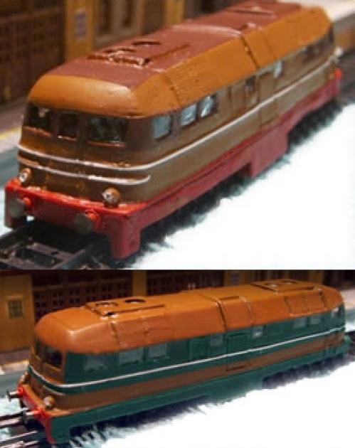 Le casse della D342 prodotta da Eurorail Models