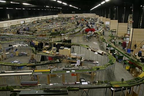 Modulare FREMO a Zuidbroek (NL) Ottobre 2010: mille metri di binari! Foto da wikimedia