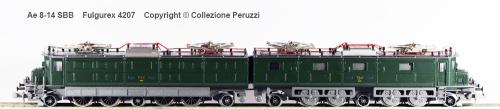 Ae 8-14 SBB Fulgurex 4207, dalla Collezione Peruzzi