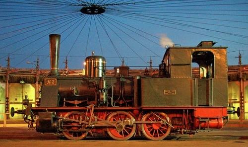 L'altra fiancata della T3 del Museo Ferroviario Piemontese - Foto © Maurizio Messa da flickr