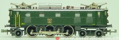Ae 3/6 (II) Fulgurex 4208. Foto da www.suter-meggen.ch