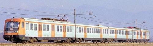 ALe.644 nel 1986, curiosamente cone le Le 884 intercalate- Foto Donato Rossi da photorail.com