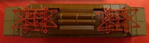 Imperiale della E.626 Safer. Si possono notare i pantografi Tipo 32 FS. Foto Massimo Tiron