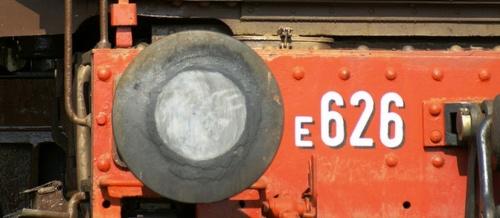 Il pancone della E.626 - foto © Sid BlackLizard da flickr