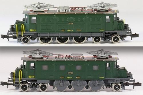 Ae 3/6 Fulgurex 1148 - è stata prodotta anche in marrone - foto © E. Hummel da www.spur-n-schweiz.ch