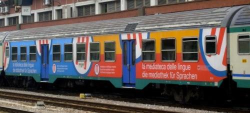 Ancora una livrea pubblicitaria altoatesina - foto da trenomania