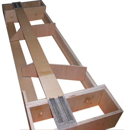 Modulo rettilineo in costruzione, modulo e foto di Michele Cremasco da http://mickysplaytime.wordpress.com