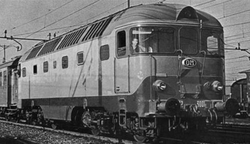 Altra immagine della D.342.3001 allo stato di origine - Foto © ArchivioFiat