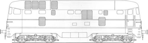 Schema della D.341.4001, da non confondersi icon le D.342 - Schema tratto da www.ferrovie.it