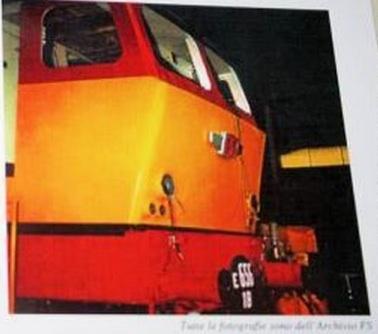 E.656 nei colori TEE da www.ferrovie.it - immagine presa da volantino ACME