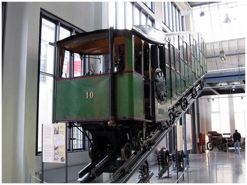 Altra vista della macchina conservata al Deutsches Museum - Foto © Jens Merte da www.ssdw.de