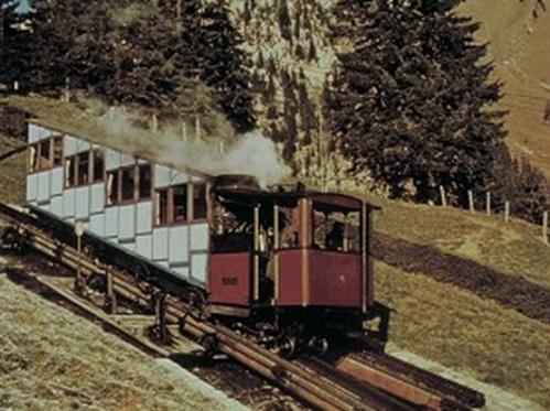 Pilatusbahn nel 1958 - foto da http://russandjilly.net/