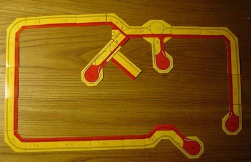 Schema di un tipico tracciato da fiera - foto di Gianni Monesi.