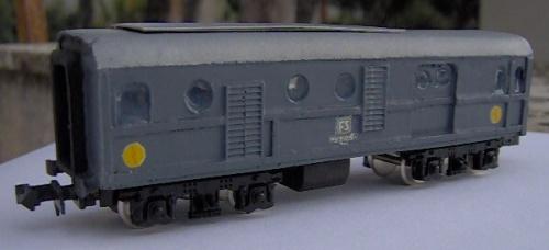 Carro riscaldo VRec di Ferrovie del Caimano
