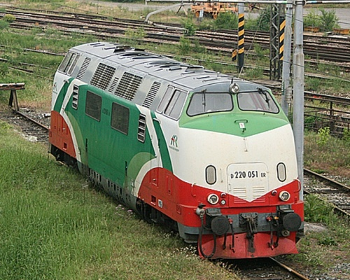 D220.051ER a Cremona nel maggio 2009 - Foto © Massimo Minervini da www.trainzitaliafoto.com