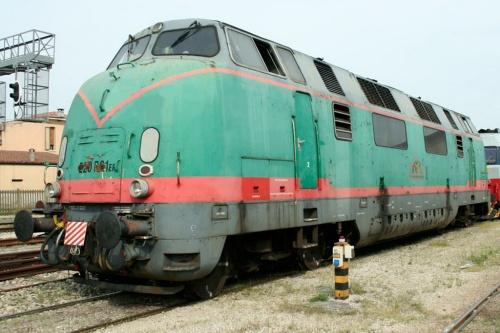 La 006 nel 2009  - Foto © R.Fogagnolo da www.trainzitaliafoto.com